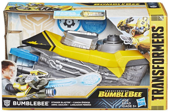 Transformers Bumblebee Stinger Blaster Roleplay Toy