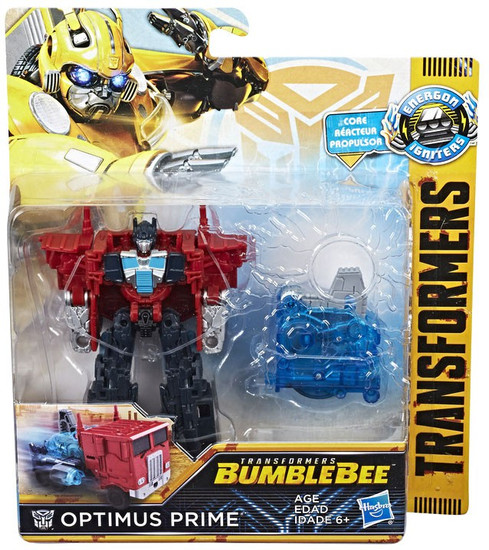 Transformers Bumblebee Movie Energon Igniters Power Plus Optimus Prime Action Figure