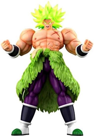 Dragon Ball Super Figure-Rise Standard Super Saiyan Broly Full Power 7-Inch Model Kit Figure