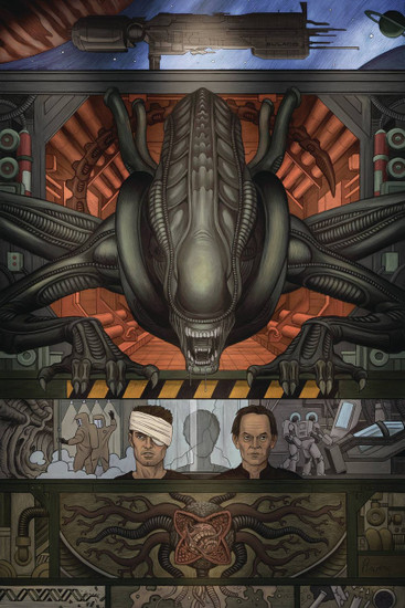 Dark Horse Alien 3 #1 Comic Book [Rivera Cover B]