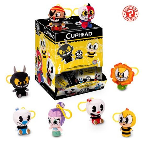 Funko Mystery Minis Plush Keychains Cuphead Mystery Box [12 Packs]