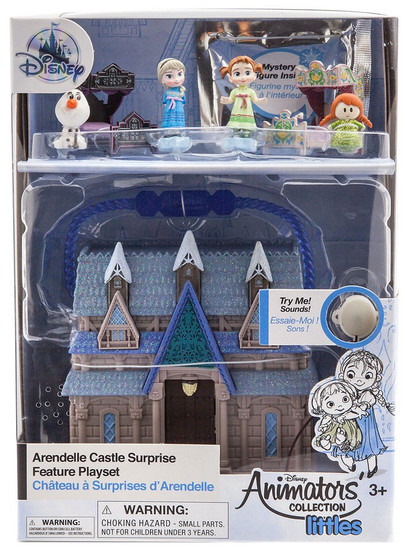 Disney Frozen Littles Animators' Collection Arendelle Castle Surprise Exclusive Micro Playset [2018]