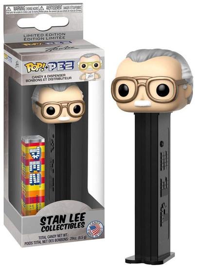 Funko Marvel POP! PEZ Stan Lee Candy Dispenser
