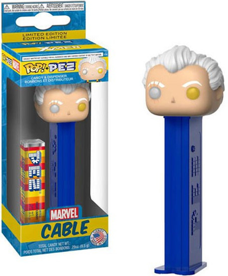 Funko Marvel POP! PEZ Cable Candy Dispenser