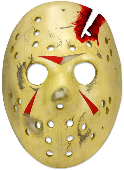 NECA Friday the 13th The Final Chapter Jason Voorhees Mask Prop Replica