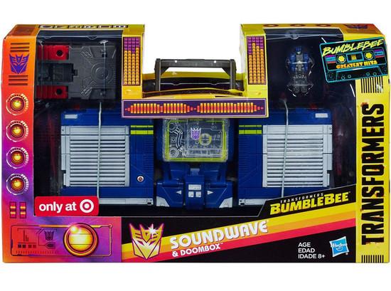 Transformers Bumblebee Greatest Hits Soundwave & Doombox Exclusive Action Figure