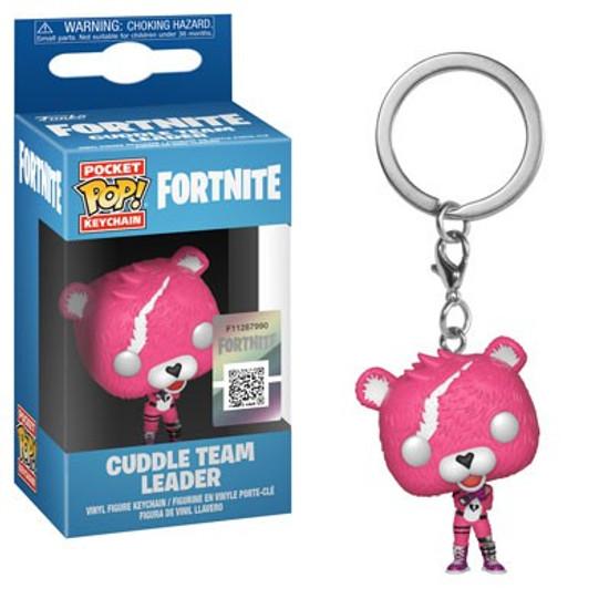 Funko Fortnite POP! Games Cuddle Team Leader Keychain