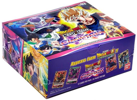 Dragon Ball Super Collectible Card Game Theme Booster 3 Clash of Fates Clash of Fates Booster Box DBS-TB03 [24 Packs]