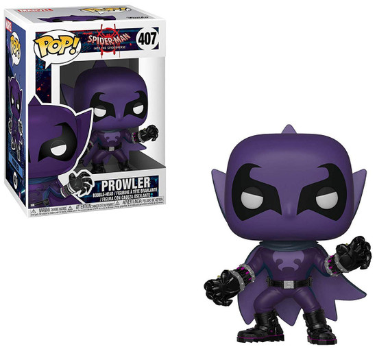 Funko Spider-Man Into the Spider-Verse POP! Marvel Prowler Vinyl Bobble Head #407
