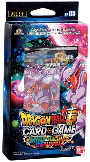 Dragon Ball Super Collectible Card Game Series 5 Miraculous Revival Miraculous Revival Series 5 Special Pack DBS-SP05