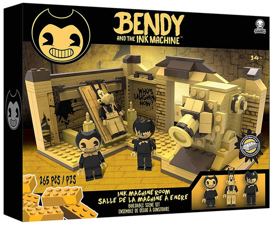 Bendy and the Ink Machine C3 Construction Ink Machine Room Buildable Scene Set [Version 2]