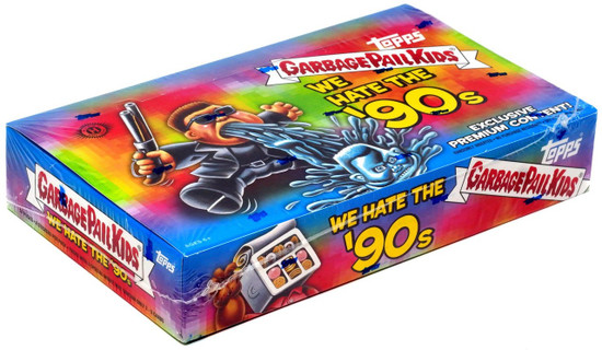 Garbage Pail Kids Topps 2019 We Hate the '90s Trading Card COLLECTOR Edition HOBBY Box [24 Packs]