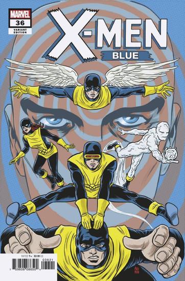 Marvel Comics X-Men Blue #36 Comic Book [Allred Final Issue Vairant Cover]