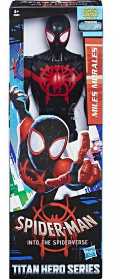 Marvel Spider-Man Into the Spider-Verse Titan Hero Series Miles Morales Action Figure