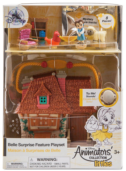 Disney Beauty and the Beast Littles Animators' Collection Belle Surprise Feature Exclusive Micro Playset [2018]