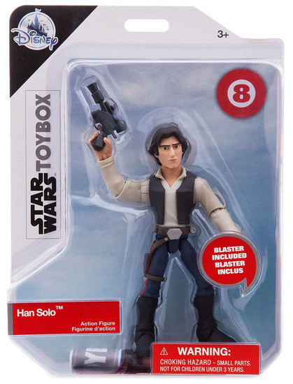 Disney Star Wars Toybox Han Solo Exclusive Action Figure