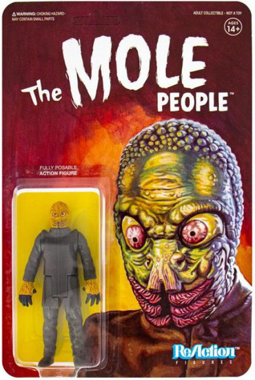 ReAction The Mole People (1956) Universal Monsters Mole Man Action Figure [The Mole People]