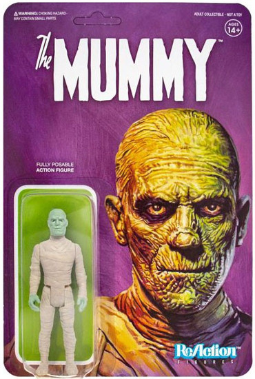 ReAction The Mummy (1932) Universal Monsters The Mummy Action Figure