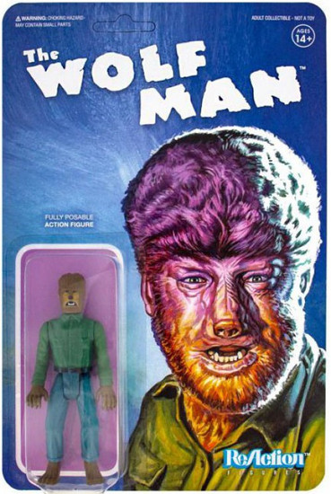 ReAction The Wolf Man (1941) Universal Monsters The Wolf Man Action Figure