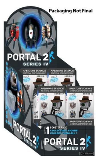 NECA Portal 2 Sentry Turret Series 4 Mystery Box [12 Packs]