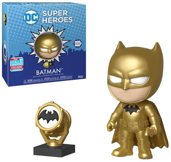 DC Funko 5 Star Batman Exclusive Vinyl Figure [Gold Midas]