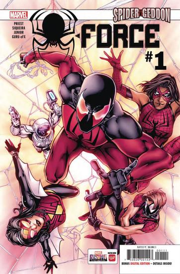 Marvel Comics Spider-Force #1 of 3 Comic Book
