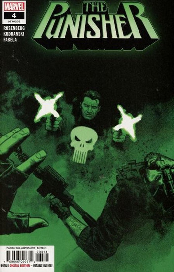 Marvel Comics The Punisher #4 Comic Book