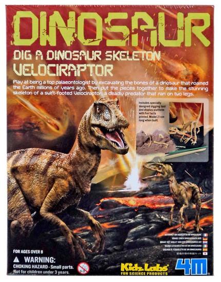 Kidz Labs Dig a Dinosaur Skeleton Velociraptor