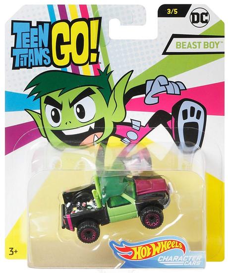 Hot Wheels Teen Titans Go! Character Cars DC Beast Boy Diecast Car #3/5