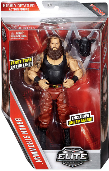 WWE Wrestling Elite Collection Series 44 Braun Strowman Action Figure [Sheep Mask, Damaged Package]