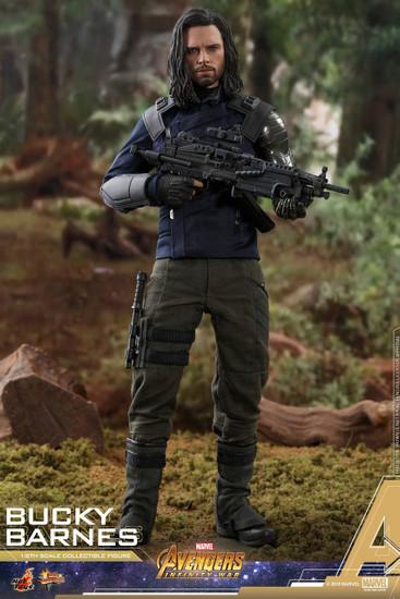 Marvel Avengers Infinity War Movie Masterpiece Bucky Barnes Diecast Collectible Figure MMS509 [Infinity War]