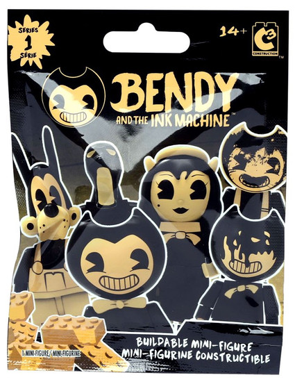 Bendy and the Ink Machine C3 Construction Series 1 Buildable Figure Mystery Pack