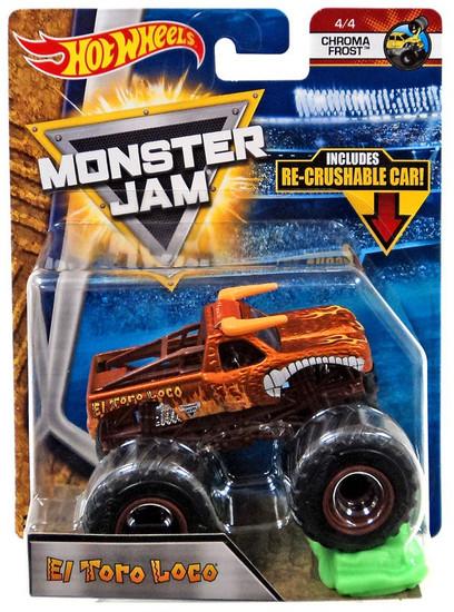 Hot Wheels Monster Jam Monster Mutt Junkyard Dog Die-Cast Car