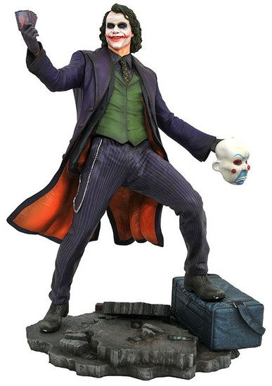 The Dark Knight DC Gallery The Joker 9-Inch Collectible PVC Statue