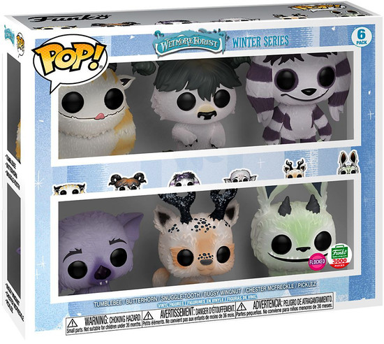 Wetmore Forest Funko POP! Monsters Exclusive Vinyl Figure 6-Pack [12 Days of Christmas, Damaged Package]
