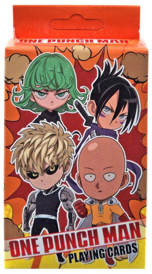 One Punch Man Playing Cards