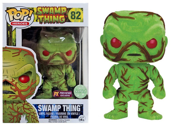Funko POP! Heroes Swamp Thing Exclusive Vinyl Figure #82 [Flocked, Scented]