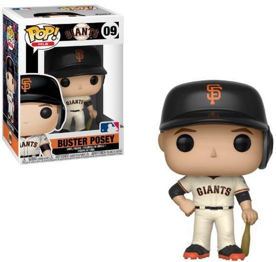 Funko MLB San Francisco Giants POP! Sports Baseball Buster Posey Vinyl Figure #09 [Damaged Package]