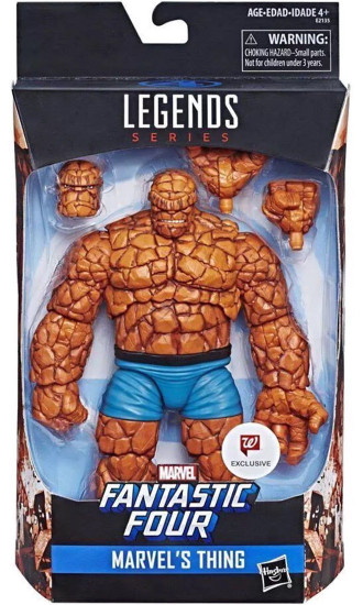 Fantastic Four Marvel Legends The Thing Exclusive Action Figure