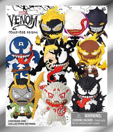 3D Figural Keyring Marvel Venom Mystery Pack