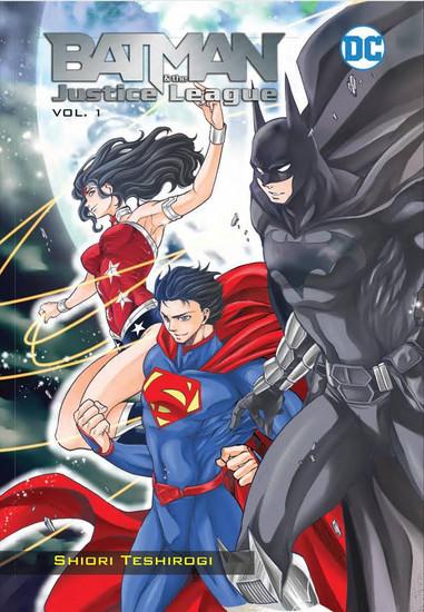 DC Batman & The Justice League Volume 1 Manga Trade Paperback