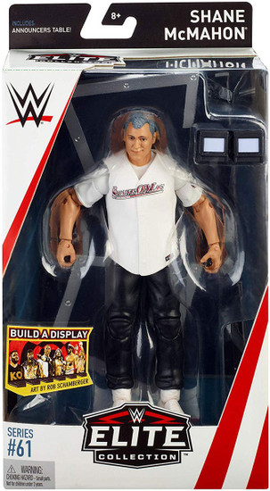 WWE Wrestling Elite Collection Series 61 Shane McMahon Action Figure