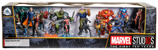 Disney Marvel Studios Exclusive 20-Piece PVC Mega Figurine Playset [The First Ten Years]