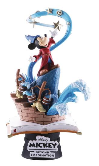 Disney Fantasia D-Select Sorcerer's Apprentice 6-Inch Diorama Statue DS-018