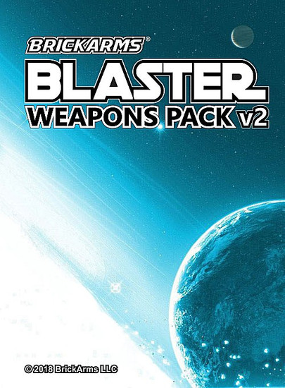BrickArms Blaster pack V2 2.5-Inch Weapons Pack