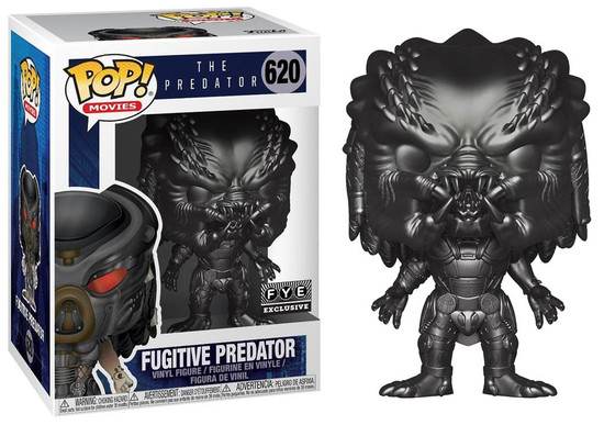 Funko The Predator 2018 Movie POP! Movies Fugitive Predator Exclusive Vinyl Figure #620 [Gun Metal]