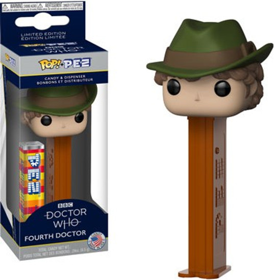 Funko Doctor Who POP! PEZ Fourth Doctor Candy Dispenser