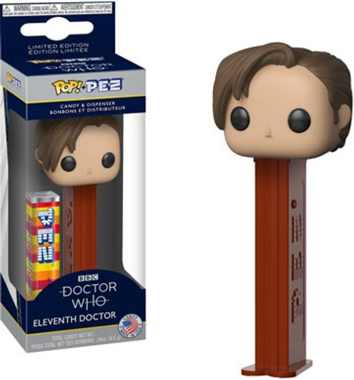 Funko Doctor Who POP! PEZ Eleventh Doctor Candy Dispenser