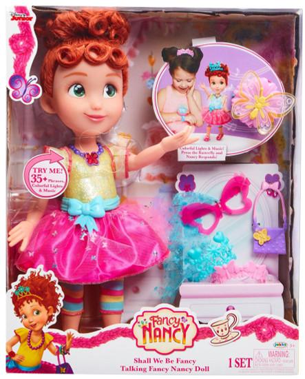 Disney Junior Fancy Nancy Shall We Be Fancy Talking Doll