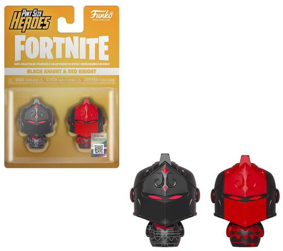 Funko Fortnite Pint Size Heroes Black Knight & Red Knight Vinyl Figure 2-Pack